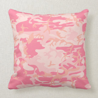 Pink Camouflage Cushion