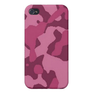 Pink Camouflage iPhone 4 Covers