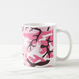 Pink Camouflage Mug