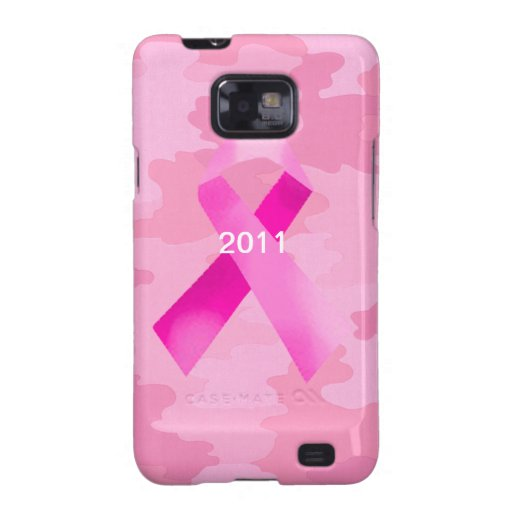 Pink Camouflage Pink Ribbon Samsung Galaxy Case