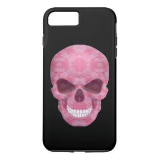 Pink Camouflage Skull iPhone 7 Case