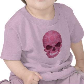 Pink Camouflage Skull Shirt