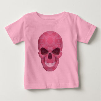 Pink Camouflage Skull Shirt