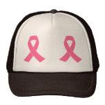 Pink Cancer Awareness Ribbon Cap