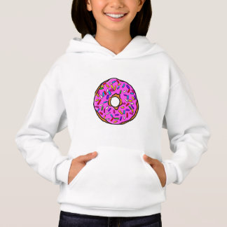 Pink Candy Donut Rainbow Colorful Sprinkles Art