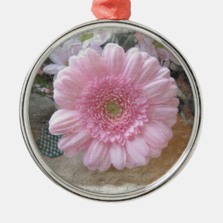 Pink Candy Floss Christmas Ornament