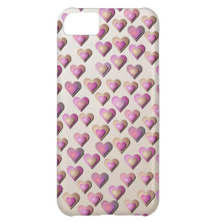 Pink Candy Hearts iPhone5 Case
