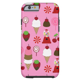 Pink Candy pattern iPhone 6 case