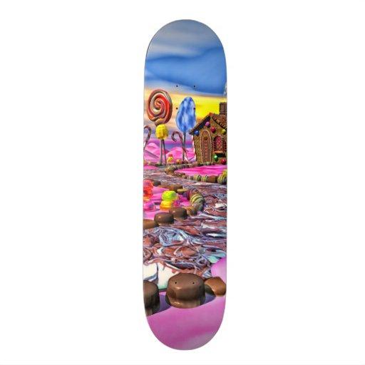 Pink Candyland Skate Decks