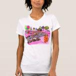 Pink Candyland Tshirts