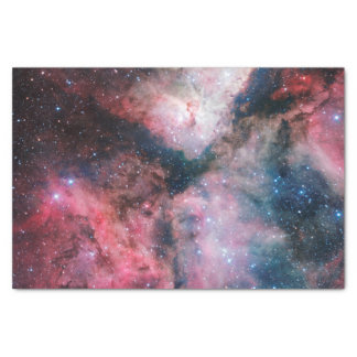 "Pink Carina Nebula Space Astronomy Stars 10"" X 15"" Tissue Paper"