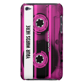 Pink Cassette Tape Personalised iPod Case-Mate Case