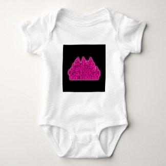 Pink Castle Baby Bodysuit