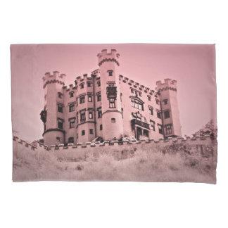 Pink Castle Pillow Case