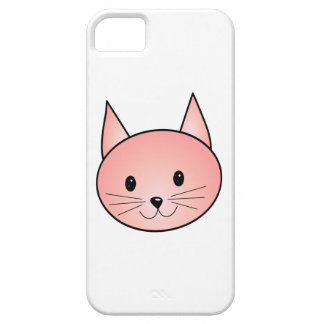 Pink Cat. Adorable kitty. Case For The iPhone 5