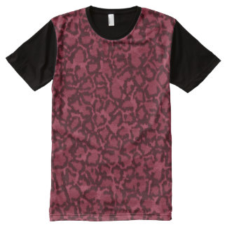 Pink Cat All-Over Print T-Shirt