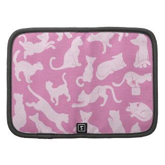 Pink Cat Pattern Organizer