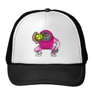 Pink Catcher Cap