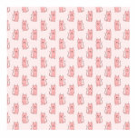 Pink Cats. Pattern Cut Outs