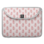 Pink Cats. Pattern MacBook Pro Sleeves