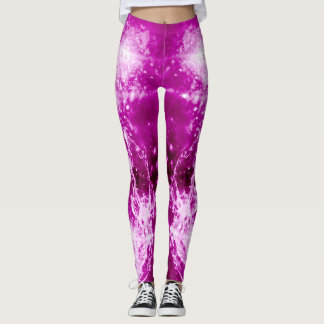 PINK CHAMPAGNE LEGGINGS