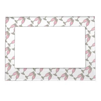 Pink Champagne Toast Wedding Bridal Shower Frame Magnetic Frames