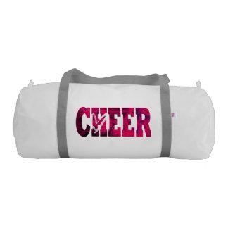 Pink Cheer Duffle Bag Gym Duffel Bag