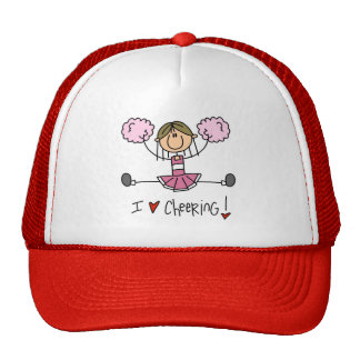 Pink Cheerleader Hat