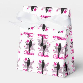 Pink Cheerleader Favour Box