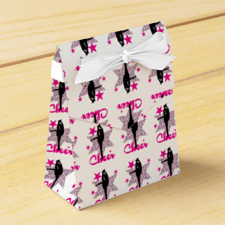Pink Cheerleader Party Favour Boxes