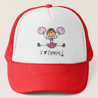 Pink Cheerleader Trucker Hat