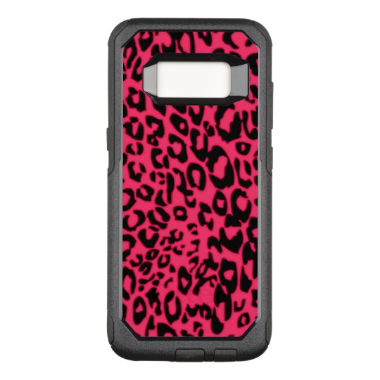 pink cheetah OtterBox commuter samsung galaxy s8 case