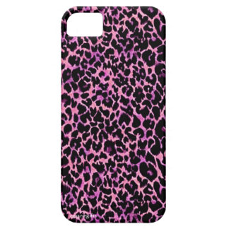 Pink Cheetah Pattern iPhone 5 Covers