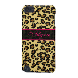Pink Cheetah Print Personalized Phone Case