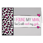 Pink Cheetah Will you be my Jr. Bridesmaid? Card