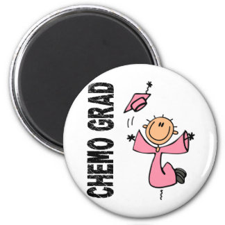 Pink CHEMO GRAD 1 (Breast Cancer) Magnet
