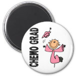 Pink CHEMO GRAD 1 (Breast Cancer) Magnets