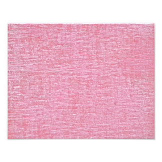 Pink Chenille Fabric Texture Photo Art
