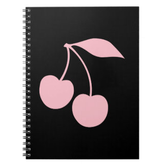 Pink Cherries Notebooks