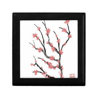 Pink Cherry Blossom 25, Tony Fernandes Small Square Gift Box