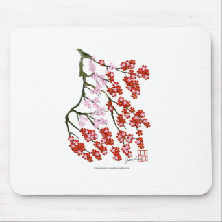 Pink Cherry Blossom 26, Tony Fernandes Mouse Pad