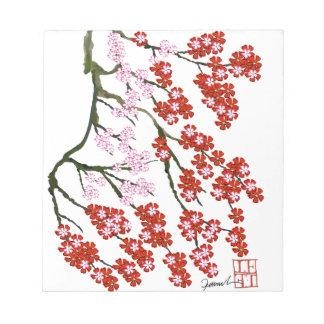 Pink Cherry Blossom 26, Tony Fernandes Notepad