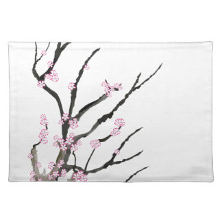 Pink Cherry Blossom 27, Tony Fernandes Placemat