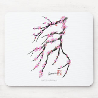 Pink Cherry Blossom 31, Tony Fernandes Mouse Mat