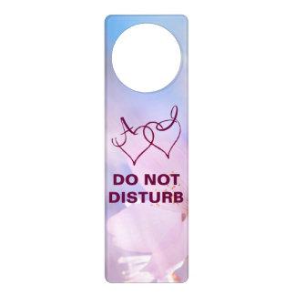 Pink cherry blossom door knob hanger
