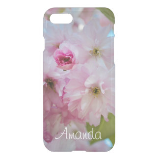 Pink Cherry Blossom Flower Spring iPhone Case Name