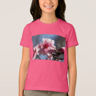 Pink Cherry Blossom Glowing in the Sunshine T-shirts