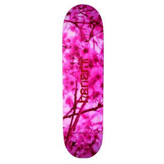 Pink Cherry Blossom 20.6 Cm Skateboard Deck