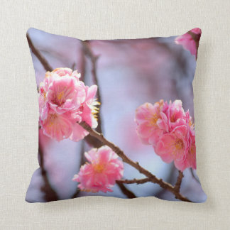 Pink Cherry Blossoms Cushion