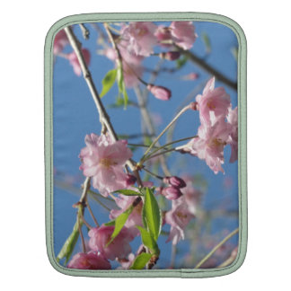 Pink Cherry Blossoms iPad Sleeve
